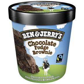 Ben & Jerry's Chocolate Fudge Brownie 500ml